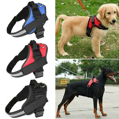 Best Quality Nylon No-Pull Adjustable Dog Pet Vest Harness Small/Medium/Large