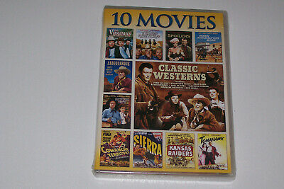 Classic Westerns: 10 Movie Collection (DVD, 2013 Universal) NEW