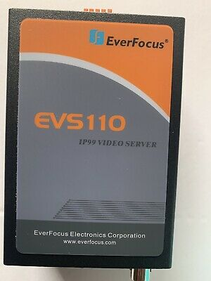 IP 99 EverFocus 110  Single CHANNEL VIDEO SERVER