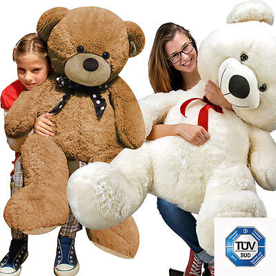 Large Teddy Bear Giant Teddy Bears Big Soft Plush Toys Kids 60/80/100cm UK