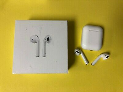 Apple AirPods Wireless Earbuds w/ Charging Case - Used