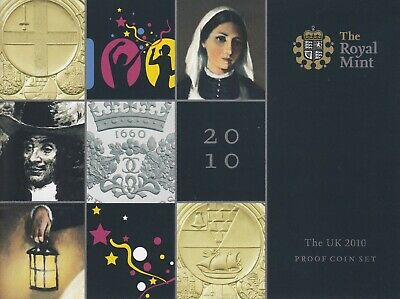 2010 UK The Royal Mint Proof 13 Coin Set