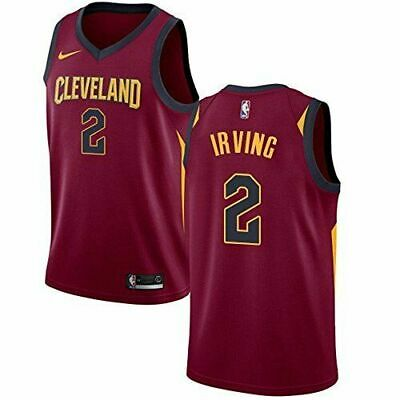 Kyrie Irving Cleveland Cavaliers Elite Nike Drifit Jersey Youth Xl $70 18-20+ Nw