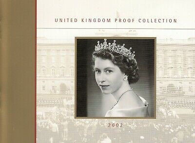 2002 UK The Royal Mint Proof 9 Coin Set