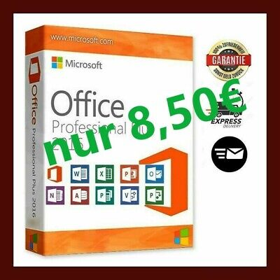 Microsoft Office 2016 Professional Plus MS Pro Word Excel Power-Point
