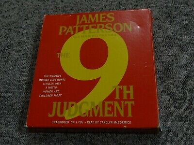 9th Judgment by James Patterson ~Women's Murder Club~ Unabridged 7 CD Audiobook