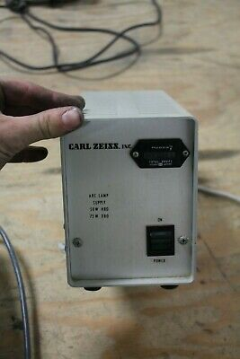 Carl Zeiss Microscope 50W HBO 75W XBO AC Power Supply