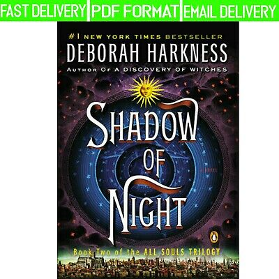 Shadow of Night Bk. 2 by Deborah Harkness (E-version, 2013)-Fast Delivery