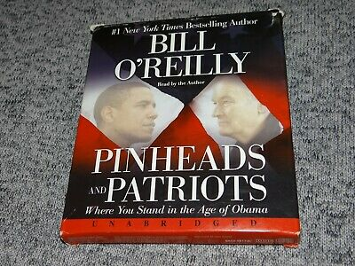 Pinheads and Patriots by Bill O'Reilly UNABRIDGED 6 CD Audiobook OBAMA Politics