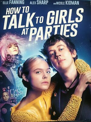 How to Talk to Girls at Parties (NEW SEALED 2018 RELEASE) SHIPS FREE