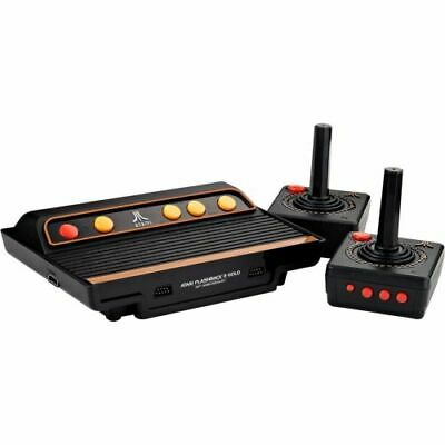 Atari Flashback 8 Gold HD, At Games, 120 Built-in Classic Games 720P HD Display