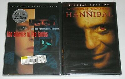 Horror DVD Lot - The Silence of the Lambs Criterion Collection (New) Hannibal