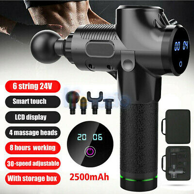 NEW Professional Massage Gun 30 Speed Percussion Vibration Muscle Body Therapy