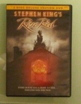 stephen king kings king's ROSE RED 2 disc deluxe edition  DVD  genuine region 1