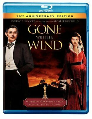 GONE WITH THE WIND Blu Ray 70th Anniversary Edition All Regions New & Sealed