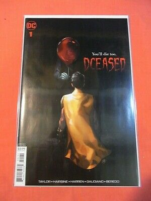 DCEASED #1 - Variant cover C (2019 series)  - bagged & boarded