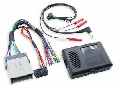 Scosche GM2000SW Factory Stereo Replacement Interface Kit for Select 03-12 GM