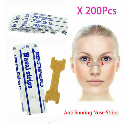 200Pcs Nasal Strips Breathe Better Anti Snore by Clever Contraptions AU