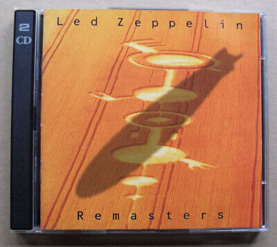 LED ZEPPELIN REMASTERS  CD 1990(thick double jewel case) DOUBLE BEST OF - Nice c