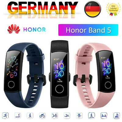"Huawei Honor Band 5 0.95"" AMOLED Full Screen Heart Rate Monitor 5ATM Watch H4P0"