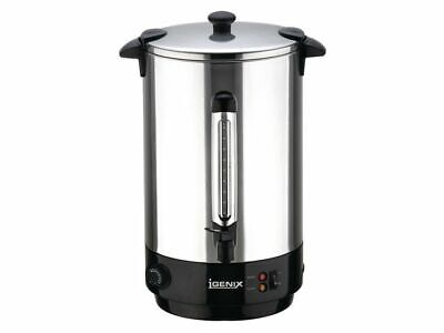 Igenix 30 Litre Catering Urn Stainless Steel IG4030  NEW + FREE 24H DELIVERY
