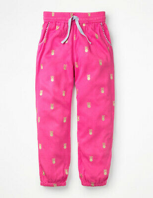NEW RRP £30 Mini Boden Casual Woven Trousers - Pink (U8-5)