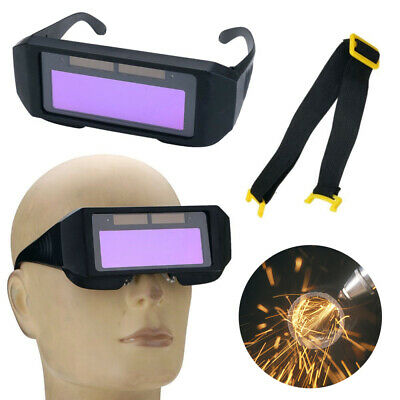 AU Auto Solar Darkening LCD Welding Glasses Mask Goggles Helmet 2 Way Protection