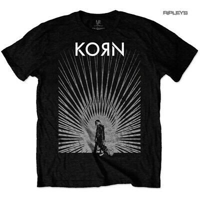 Official Black T Shirt KORN The Nothing 'Radiate Glow' All Sizes