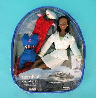SKU#622779-7 Carnival CAPTAINS Doll (AFRICAN AMERICAN)
