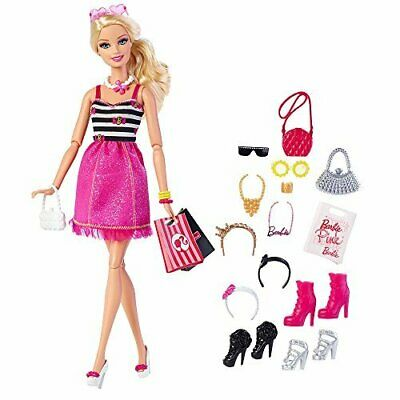 Barbie Fashion Doll with Glam Accessories