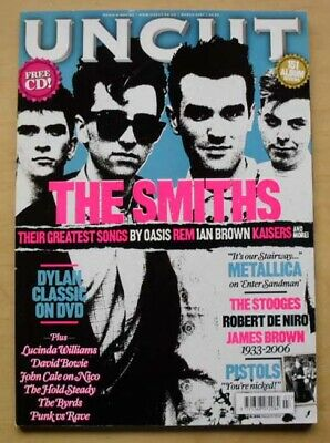 Smiths Uncut #118 Magazine  March 2007 Smiths Cover With Feature Inside (No Cd)