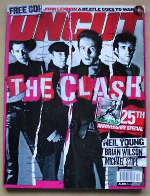 Clash Uncut #89 Magazine October 2004 The Clash Cover With Feature Inside Uk