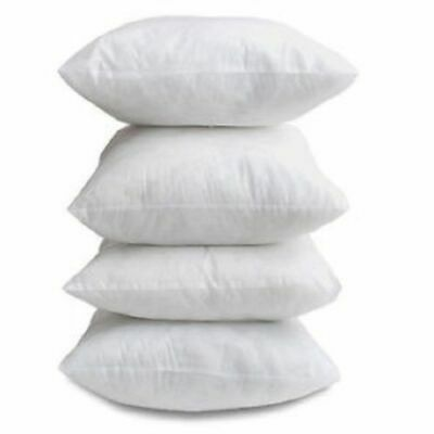 16X16 18X18 20X20 Inches Cushion Pads Hollowfibre Inners Inserts Fillers Scatter