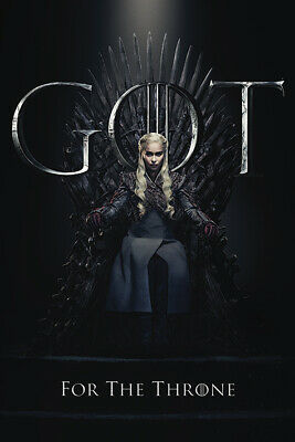 Game Of Thrones (Daenerys pour The Throne) Maxi Poster PP34492 61cm x 91.5cm