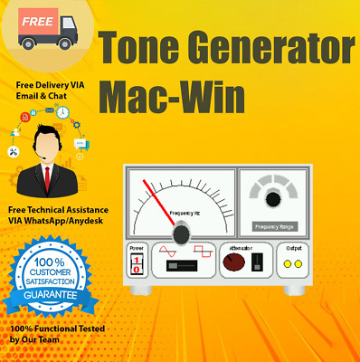 NCH Tone Generator Software For Hearing Test, White Noise, Test Audio -Calibrate