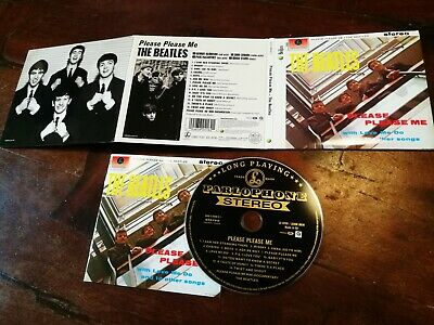 The Beatles - Please Please Me Deluxe Package Digipack Cd Perfetto Mint