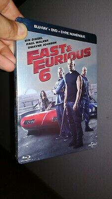 Coffret Steelbook Blu-Ray + Dvd / Fast & Furious 6 / Vin Diesel , Paul Walker