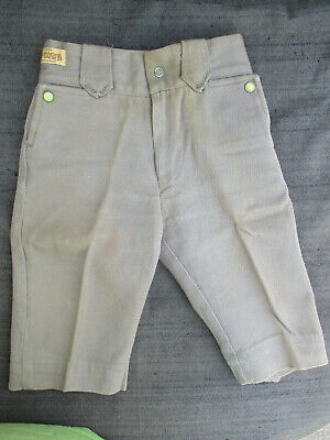 VINTAGE 1950s TEX-TOGS SANFORIZED TEXAS MADE WESTERN KID'S PANTS