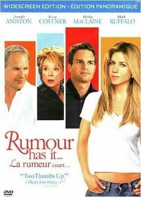Drama - Rumour Has It (DVD, 2006) (Bilingual) Kevin Costner Romance Comedy NEW