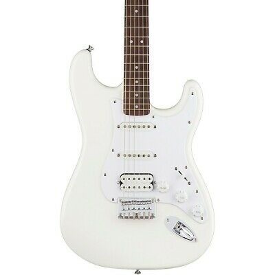Squier Bullet Stratocaster HSS HT Electric Guitar Arctic White