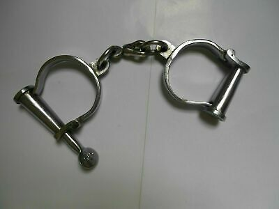 Antique Iron Handcuffs Antique Style police Shackles-Props Iron New Hand Cuff