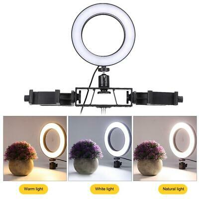 """6"""" 64pcs Selfie LED Ring Fill Light Camera Photography for iPhone Android Phone"""