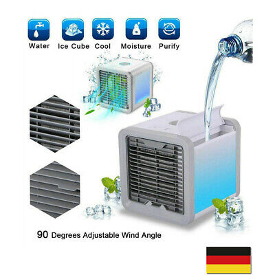 Portable USB Mini Cooler Fan Air Conditioner 3 in 1 Personal Desktop Office Cold