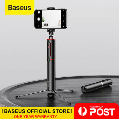 Baseus Selfie Stick Tripod Portable Bluetooth Remote Monopod for iPhone Samsung