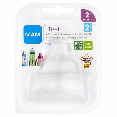 Mam FT0202 Medium Flow Teat (Size 2) 2pk