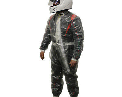 Go Kart Storm Clear Wet Suit XL Karting Racing Race