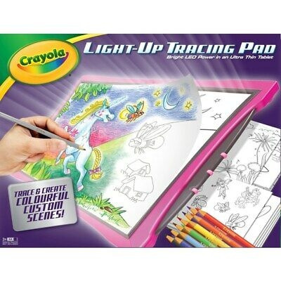 Crayola Light Up Tracing Pad - Drawing & Colouring Activity - A Creative Toolset