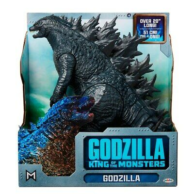 "Jakks Godzilla King Of The Monsters 20"" Long Articulated Movie Figure NEW"