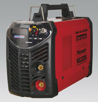 Genuine SEALEY MW200A | Inverter Welder 200Amp 230V