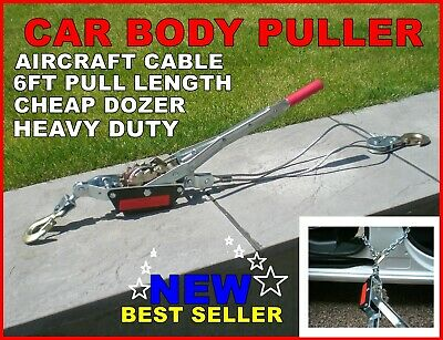 Car Body Puller Jig Garage Spares Tool Reset Repairs Or Hoist Dent Lifter Power